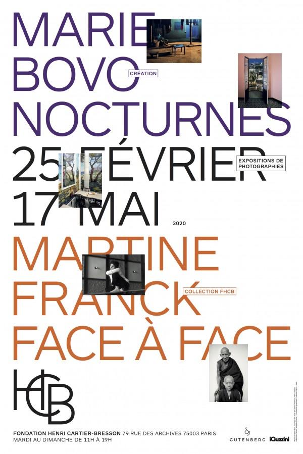 Martine Franck, Face à face à la Fondation Henri Cartier-Bresson