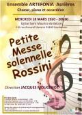 L'Ensemble Artefonia et solistes en concert