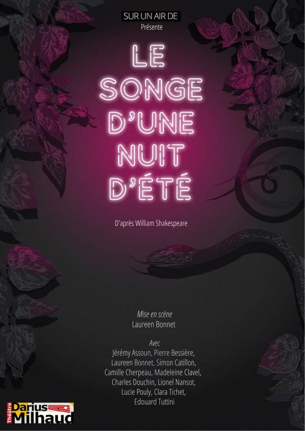 Le Songe d'une nuit d'été au Théâtre Darius Milhaud