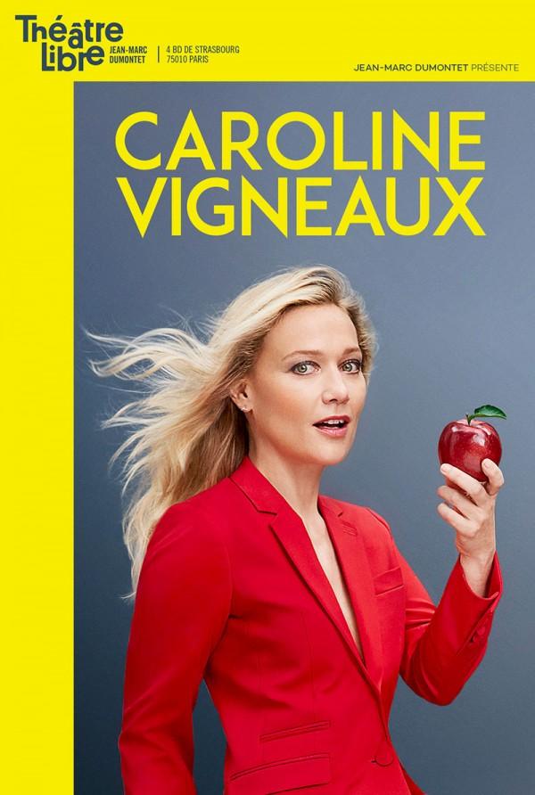 Caroline Vigneaux croque la pomme au Théâtre Libre