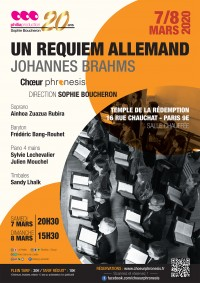 Le Chœur Phronesis et solistes en concert