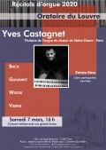 Yves Castagnet en concert