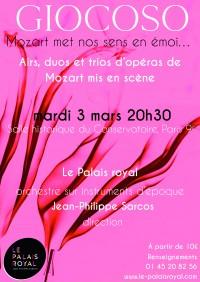 Le Palais royal en concert