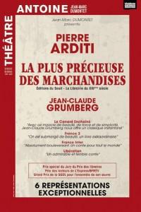 Pierre Arditi : La Plus Précieuse des Marchandises de Jean-Claude Grumberg au Théâtre Antoine