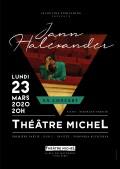 Jann Halexander au Théâtre Michel