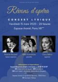 Roxane Roussel, Clara Bellon et Akiko Kawakubo en concert