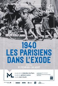 1940 : les parisiens dans l'exode au Musée de la Libération de Paris