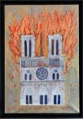 Exposition L'empreinte de Notre-Dame à la Galerie Orenda