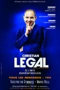 Christian Legal se limite #auxdegatsdeslieux au Théâtre du Gymnase