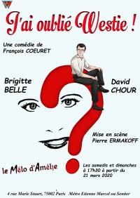 J'ai oublié Westie au Théâtre Mélo d'Amélie
