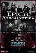 Epica et Apocalyptica au Zénith