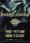 Grand Magus et Wolf en concert