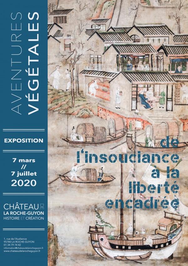 Aventures végétales : de l'insouciance à la liberté encadrée au Château de la Roche-Guyon