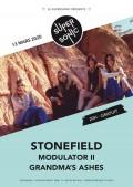 Stonefield, Modulator II et Grandma's Ashes au Supersonic