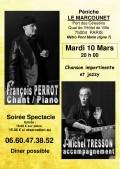 François Perrot et Jean-Michel Tresson en concert
