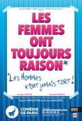 Les femmes ont toujours raison à la Comédie de Paris