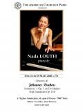 Nada Loutfi en concert
