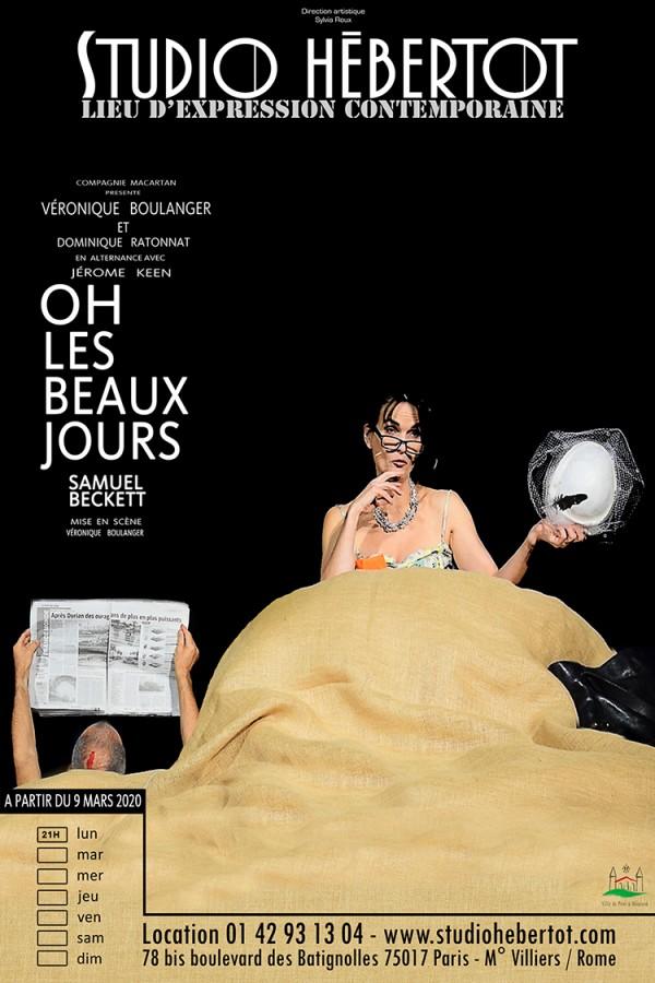 Oh ! Les Beaux Jours au Studio Hébertot