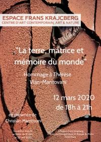 La Terre, matrice et mémoire du monde au Centre d'Art contemporain Frans Krajcberg