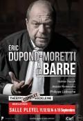 Éric Dupond-Moretti à la barre à la Salle Pleyel