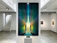 """Vue de l'exposition """"Ultima Thulé"""" Edouard WOLTON"""