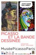 Picasso et la bande dessinée - Affiche de l'exposition