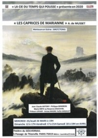 Les Caprices de Marianne au Théâtre du Gouvernail