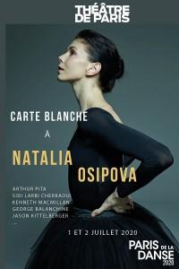 Carte blanche à Natalia Osipova au Théâtre de Paris