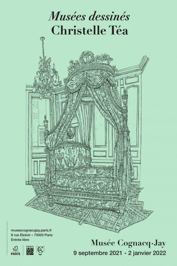 Christelle Téa, Musées dessinés au Musée Cognacq-Jay