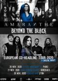 Amaranthe et Beyond the Black à l'Élysée Montmartre