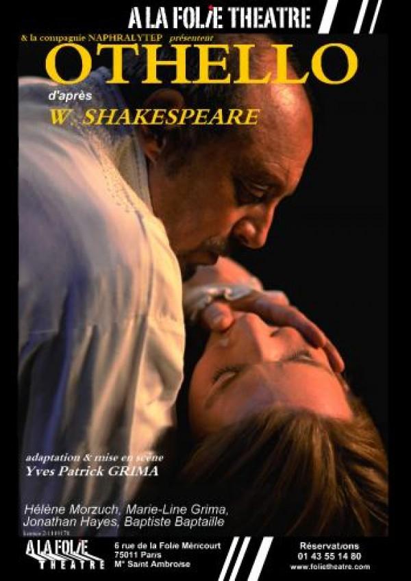 Othello à la Folie Théâtre