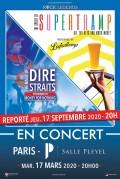 « Hommage à Supertramp et The Dire Straits » salle Pleyel