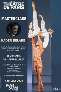 Masterclass Kader Belarbi au Théâtre de Paris