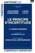 Le Principe d'incertitude au Théâtre Antoine