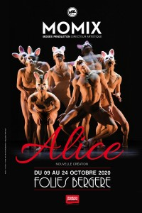 Momix : Alice, Down the Rabbit Hole aux Folies Bergère