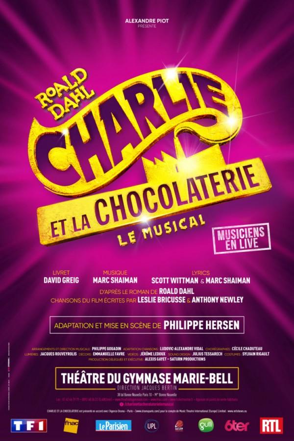 Charlie et la chocolaterie : Le Musical au Théâtre du Gymnase