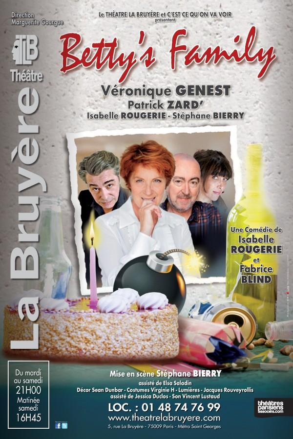 Betty's Family au Théâtre La Bruyère