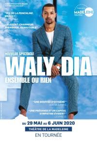 Waly Dia : Ensemble ou rien au Théâtre de la Madeleine