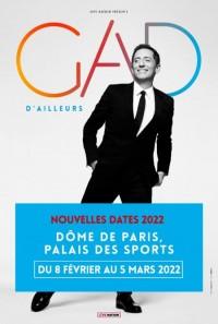 Gad Elmaleh au Dôme de Paris - Palais des Sports (report 2022)