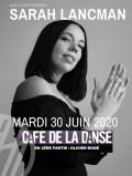 Sarah Lancman au Café de la Danse