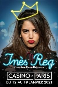 Inès Reg au Casino de Paris