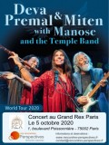 Deva Premal, Miten, Manose & The Temple Band au Grand Rex