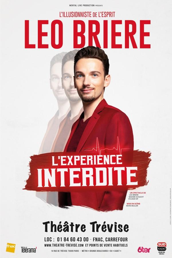 Léo Brière : L'Expérience interdite au Théâtre Trévise
