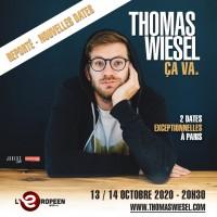 Thomas Wiesel : Ça va à L'Européen