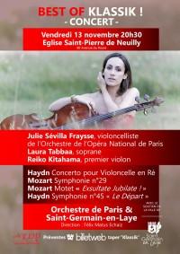 L'Orchestre de Paris et Saint-Germain-en-Laye et solistes en concert