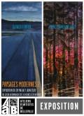 """Paysages Modernes II"" Olivier FURTER, Marie-Catherine WILD"