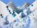 Vallée blanche 2, Fabien BOITARD, huile sur toile, 80 x 60cm