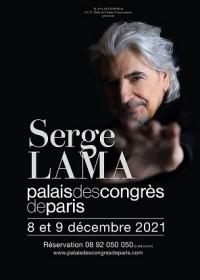 Serge Lama au Palais des Congrès