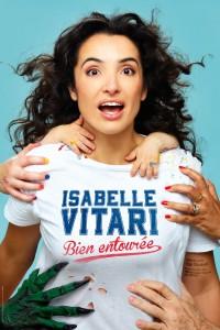 Isabelle Vitari : Bien entourée au Petit Palais des Glaces