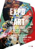 Salon Expo4Art à la Halle des Blancs-Manteaux